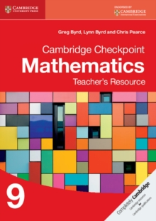 Image for Cambridge Checkpoint Mathematics Teacher's Resource 9