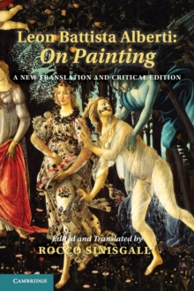 Image for Leon Battista Alberti  : on painting