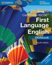Image for Cambridge IGCSE first language English: Workbook