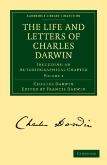 Image for The Life and Letters of Charles Darwin 3 Volume Paperback Set : Including an Autobiographical Chapter