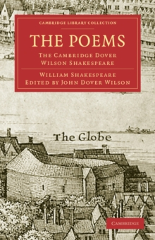 Image for The Poems : The Cambridge Dover Wilson Shakespeare