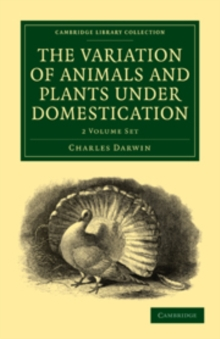 Image for The Variation of Animals and Plants under Domestication 2 Volume Paperback Set