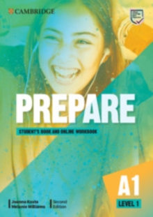 Prepare Level 1 Student's Book with Online Workbook - Kosta, Joanna