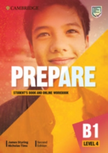 Cambridge English prepare!Level 4,: Student's book and online workbook - Styring, James