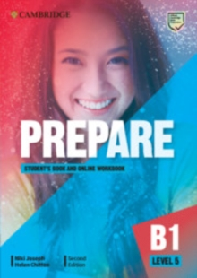 Cambridge English Prepare!Level 5,: Student's book with online workbook - Joseph, Niki