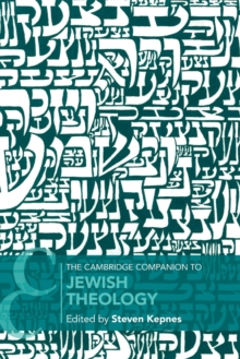 Image for The Cambridge companion to Jewish theology