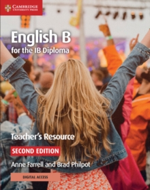 Image for English B for the IB DiplomaTeacher's resource