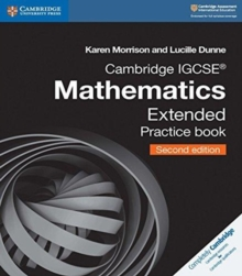 Image for Cambridge IGCSE mathematics: Extended practice book