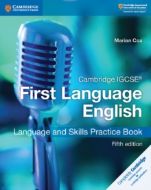 Image for Cambridge IGCSE first language English language and skills: Practice book