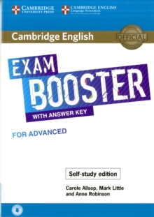 Image for Cambridge English exam booster with answer key for advanced - self-study edition  : photocopiable exam resources for teachers
