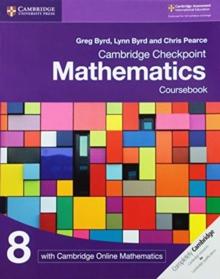 Image for Cambridge checkpoint mathematics: Coursebook 8