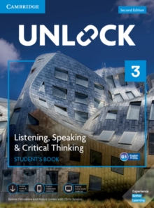 Image for Unlock  : listening, speaking & critical thinkingLevel 3,: Student's book, mobile app and online workbook w/downloadable audio and video