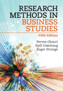 Image for Research methods in business studies