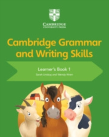 Image for Cambridge grammar and writing skills: Learner's book 1