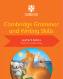 Image for Cambridge grammar and writing skillsLearner's book 6
