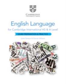 Image for Cambridge International AS and A Level English language exam preparation and practice