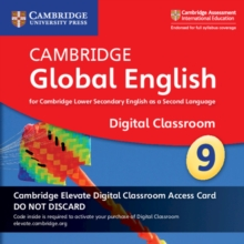 Image for Cambridge Global English Stage 9 Cambridge Elevate Digital Classroom Access Card (1 Year) : For Cambridge Lower Secondary English as a Second Language