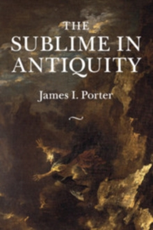 Image for The sublime in antiquity