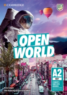 Open worldKey,: Student's book with answers - Cowper, Anna