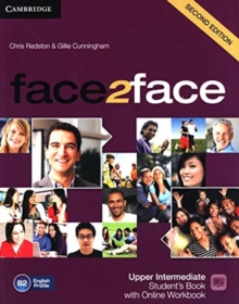 Image for face2face Upper Intermediate Student's Book with Online Workbook