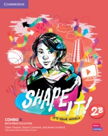 Image for Shape It! Level 2 Combo B Student's Book and Workbook with Practice Extra