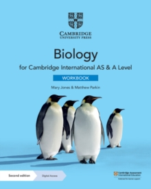 Image for Cambridge International AS & A Level Biology Workbook with Digital Access (2 Years)