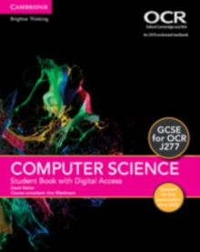 Image for GCSE computer science for OCR student book