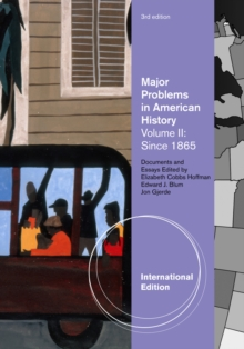 Image for Major Problems in American History, Volume II, International Edition
