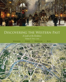 Image for Discovering the western pastVolume II,: Since 1500