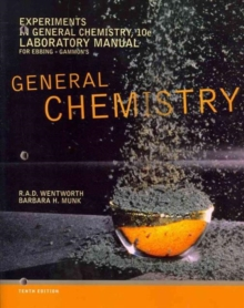 Image for Experiments in General Chemistry, Lab Manual