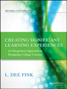 Image for Creating significant learning experiences  : an integrated approach to designing college courses