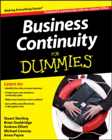 Image for Business continuity for dummies