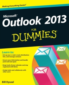 Image for Outlook  2013 for dummies