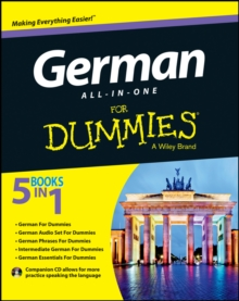 Image for German all-in-one for dummies