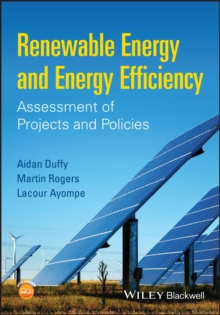 Image for Renewable energy and energy efficiency: assessment of projects and policies