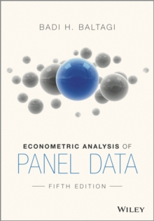 Image for Econometric analysis of panel data