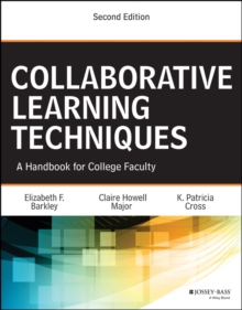 Image for Collaborative learning techniques: a handbook for college faculty