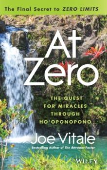 Image for At zero  : the final secret to 'Zero limits'