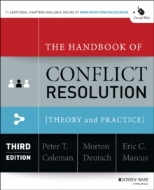 Image for The handbook of conflict resolution: theory and practice
