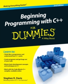 Image for Beginning programming with C++ for dummies