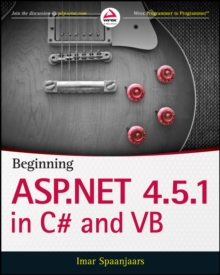 Image for Beginning ASP.NET 4.5.1 in C` and VB