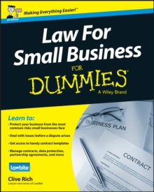 Image for Law for small business for dummies