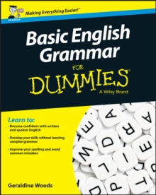 Image for Basic English grammar for dummies