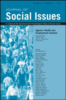 Image for Ageism : Health and Employment Contexts