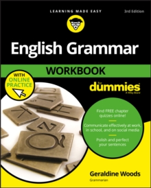 Image for English Grammar Workbook For Dummies with Online Practice