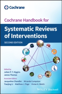 Image for Cochrane Handbook for Systematic Reviews of Interventions