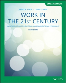 Image for Work in the 21st century  : an introduction to industrial and organizational psychology