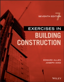 Image for Exercises in building construction
