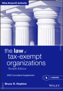 Image for The law of tax-exempt organizations2020 cumulative supplement