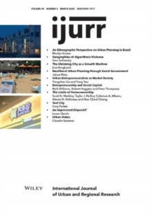 Image for International Journal of Urban and Regional Research, Volume 44, Issue 2